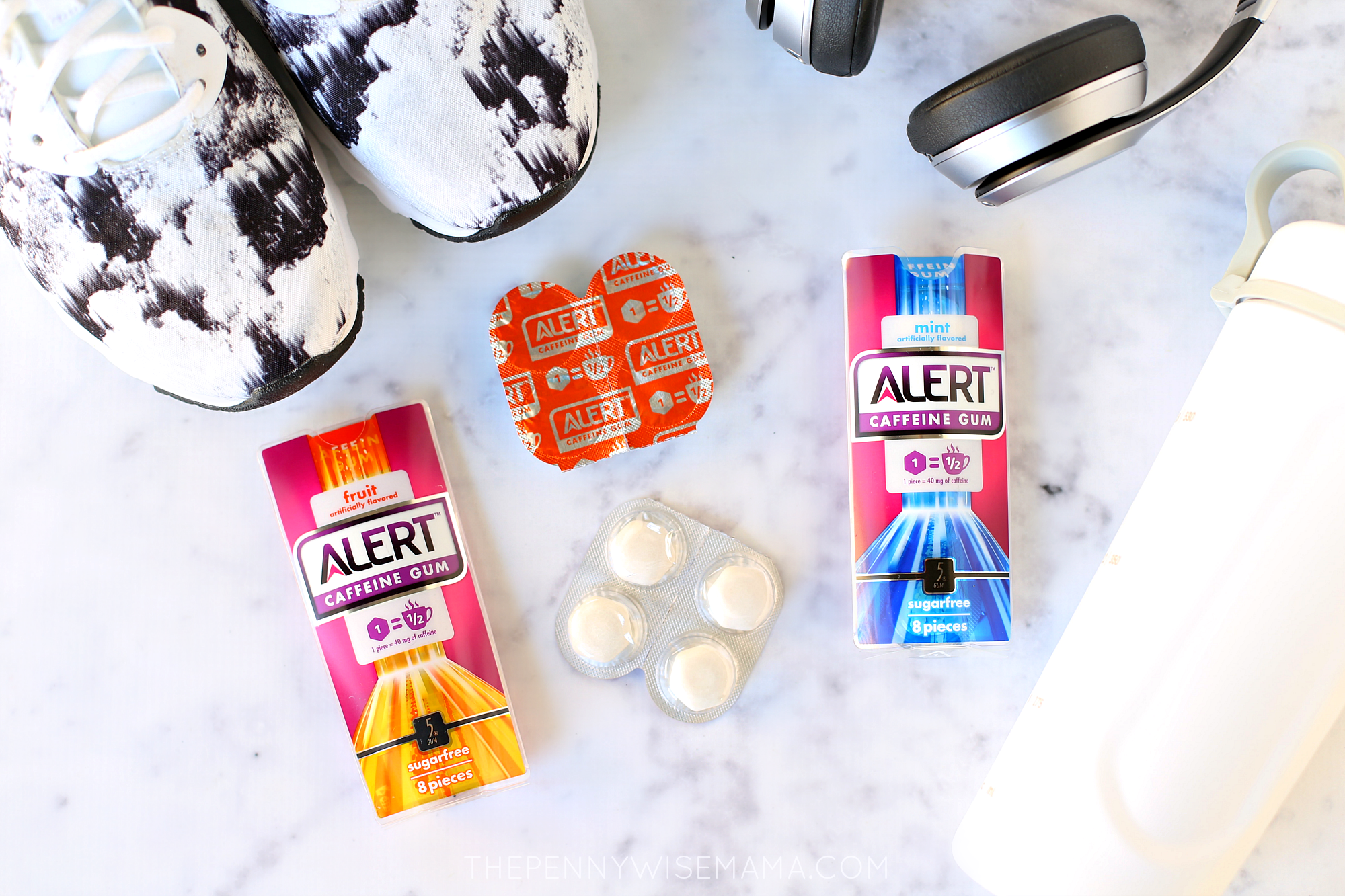 Stick to Your Fitness Goals with Alert Caffeine Gum