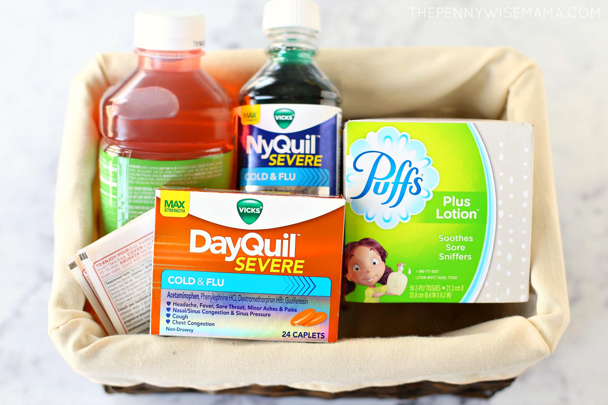 "Flu ""Get Well"" Package"