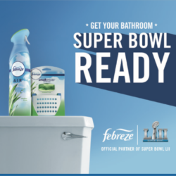 Get Your Bathroom Super Bowl Ready with BOGO FREE Febreze Deal