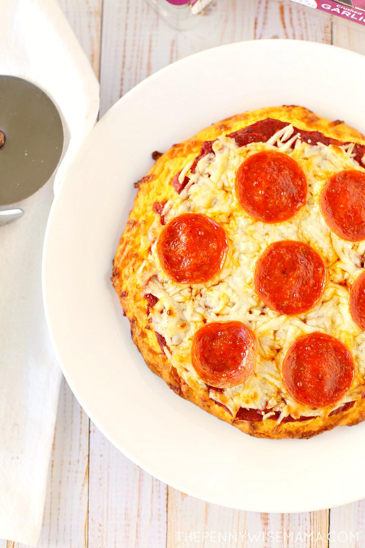 Delicious, Low Carb Keto Pizza Recipe