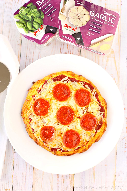 Quick & Easy Keto Pizza - delicious low carb recipe