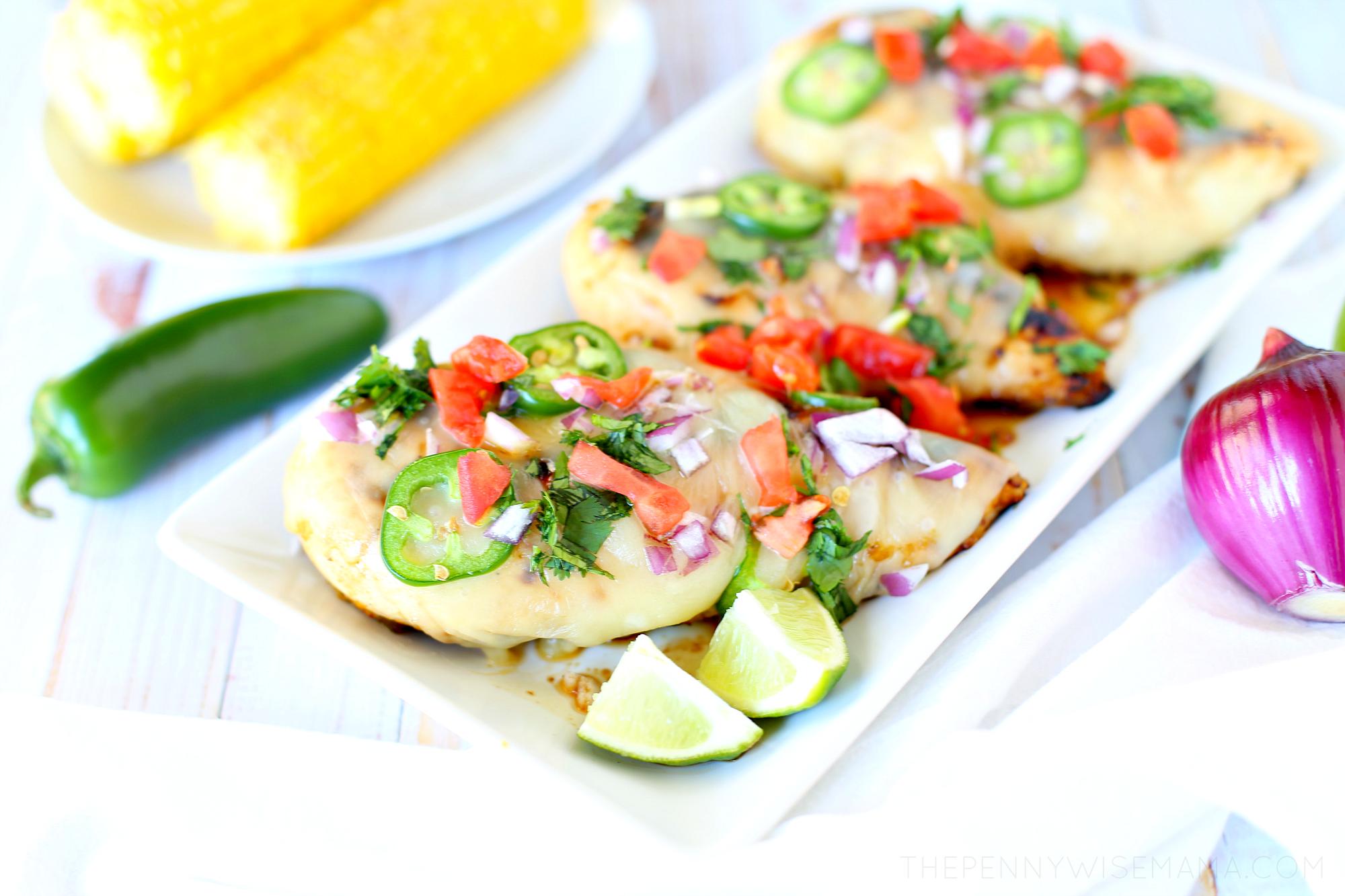 Grilled Salsa Verde Chicken Recipe
