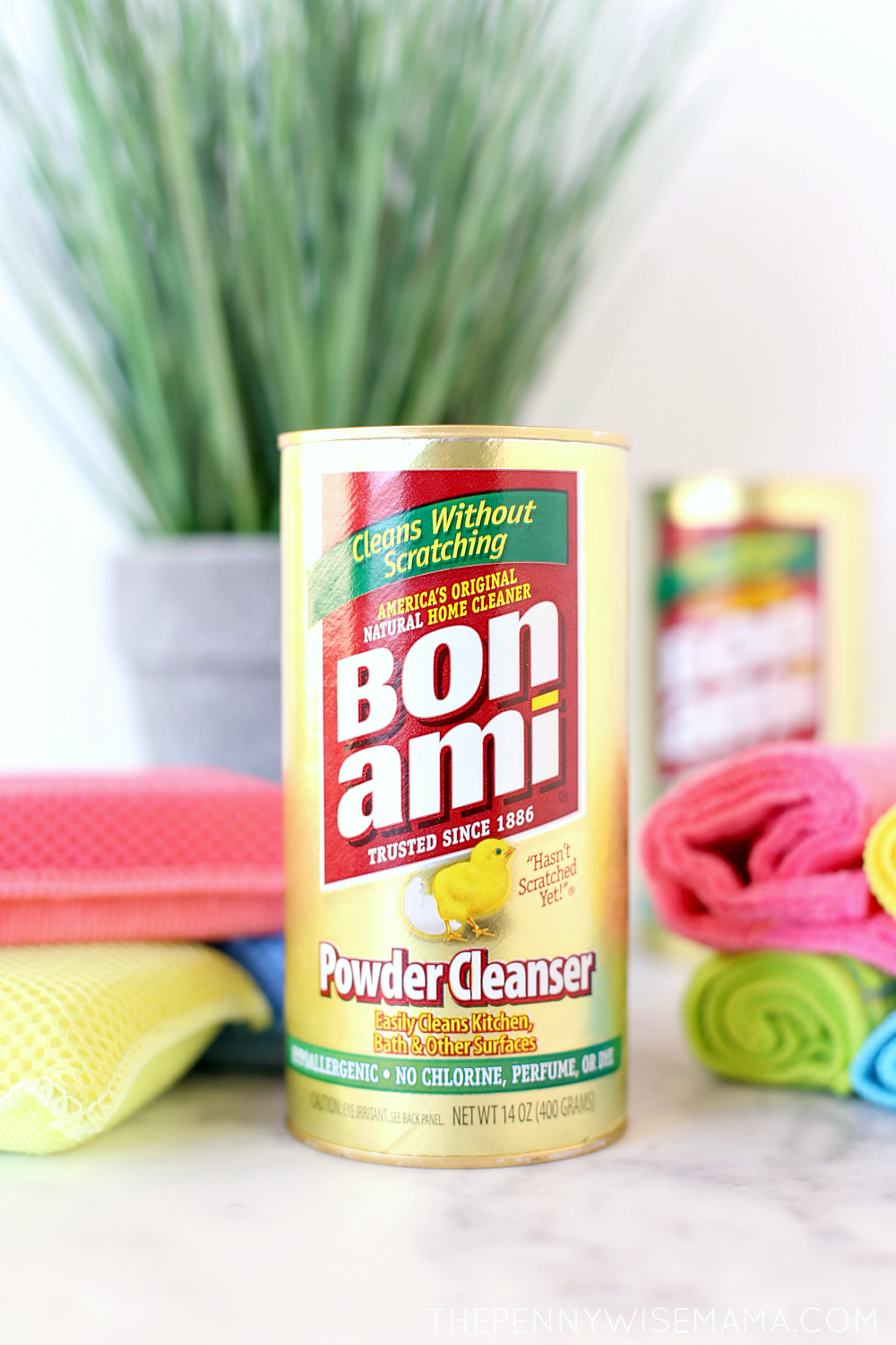 Deep Clean Your Home with Bon Ami a Non-Toxic Natural Powder Cleanser