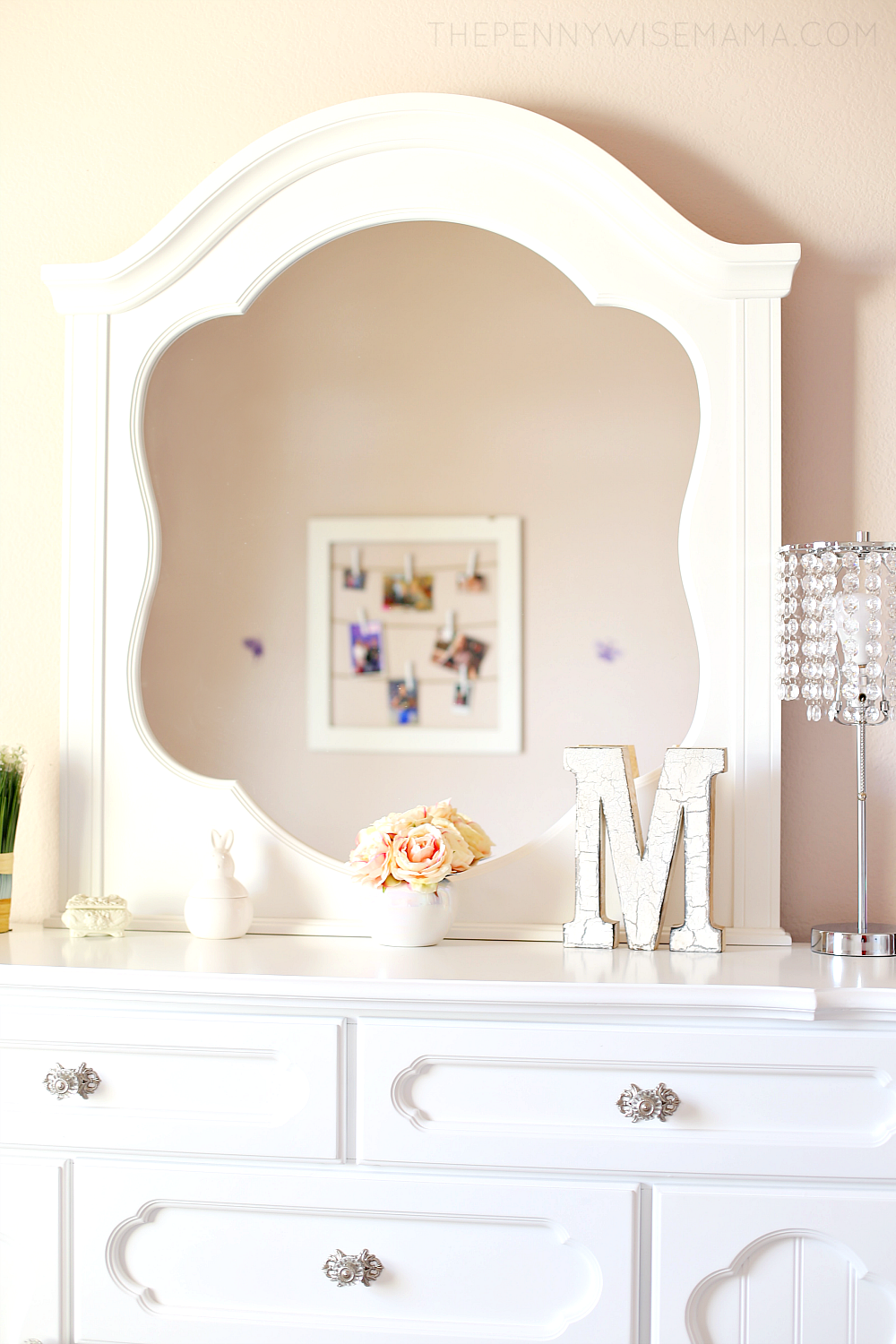 Pretty Tween Girl Room - Adrian Dresser from American Furniture Warehouse