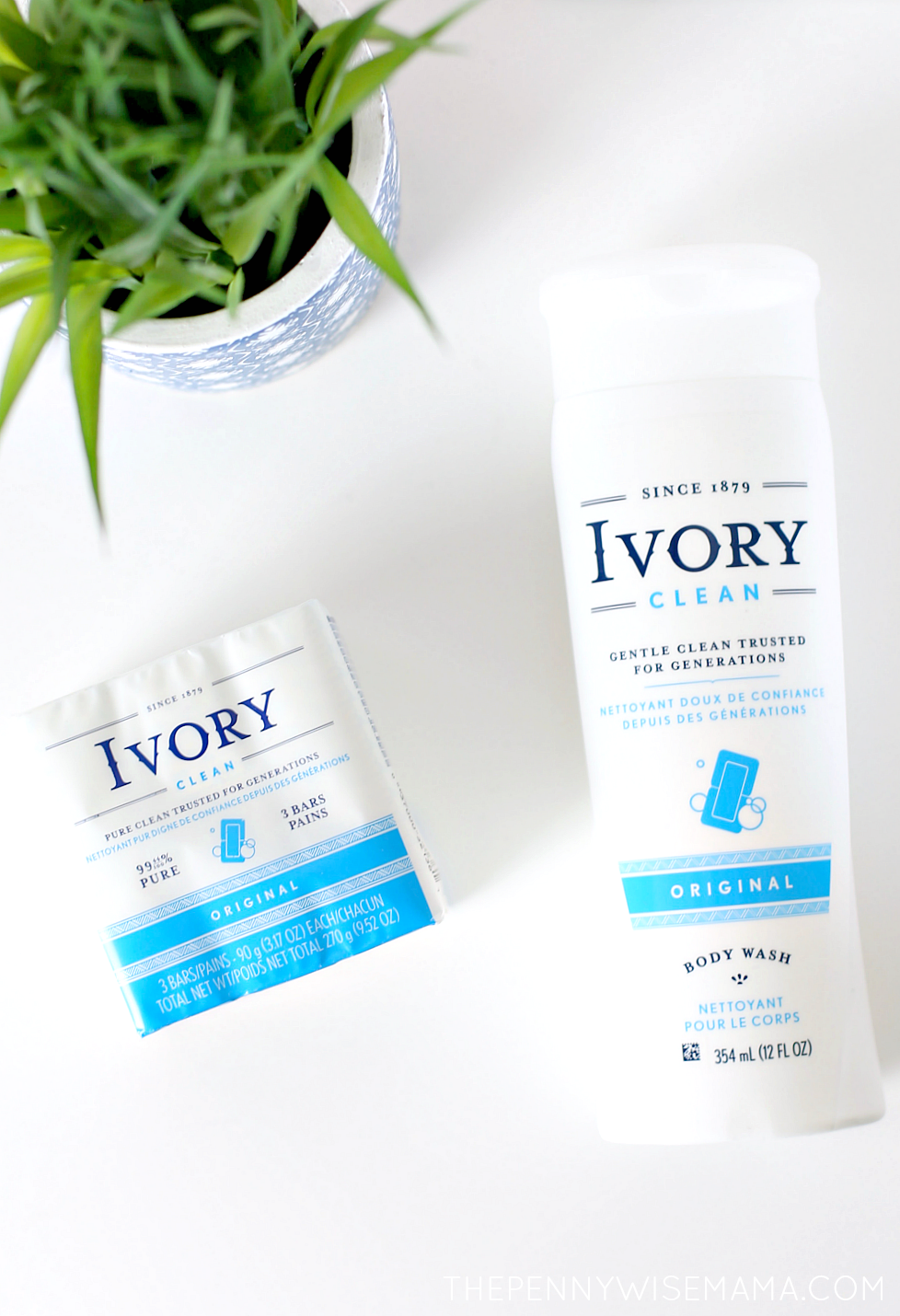 New Ivory Products - Original Bar Soap & Classic Body Wash
