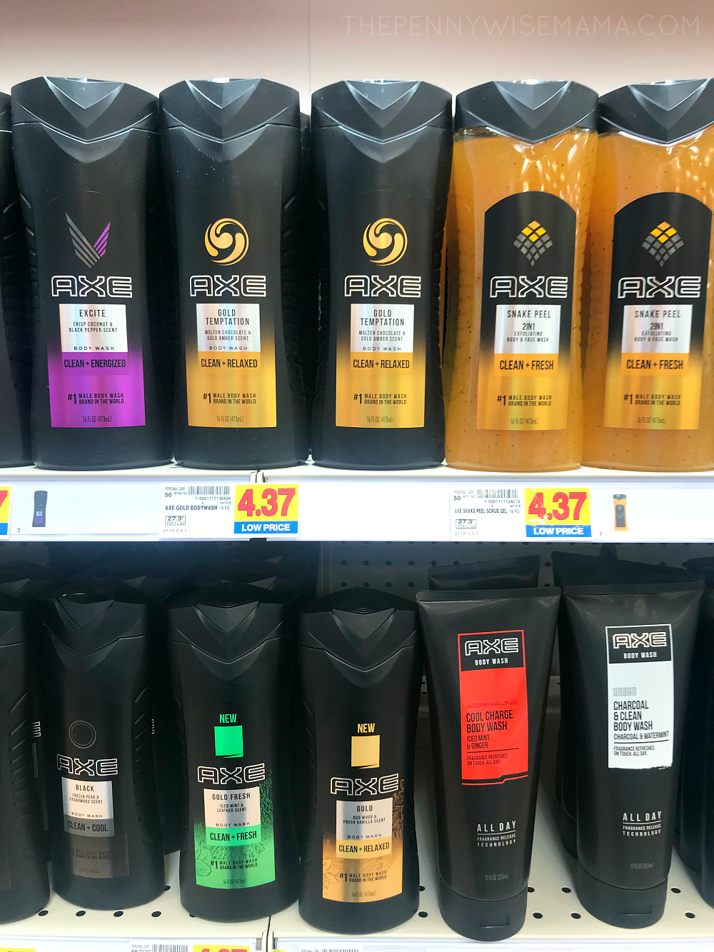 New Axe Gold at King Soopers Kroger