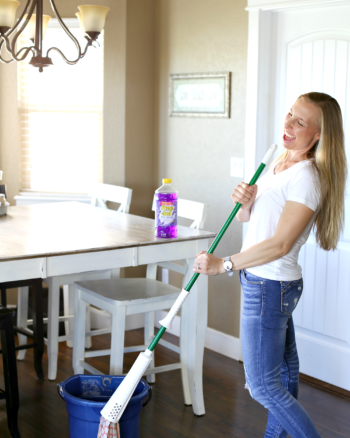 Make Cleaning Fun! Pine-Sol #MyCleanMoves Contest