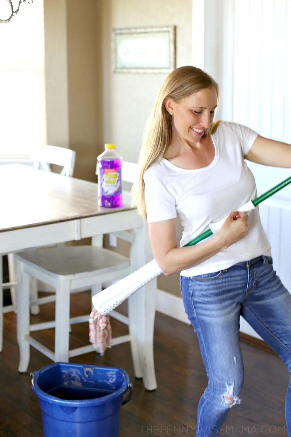 Make Cleaning Fun with Pine-Sol My Clean Moves Contest