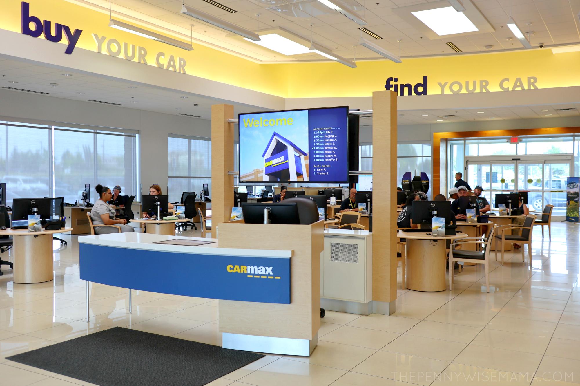 Inside CarMax Used Car Retailer