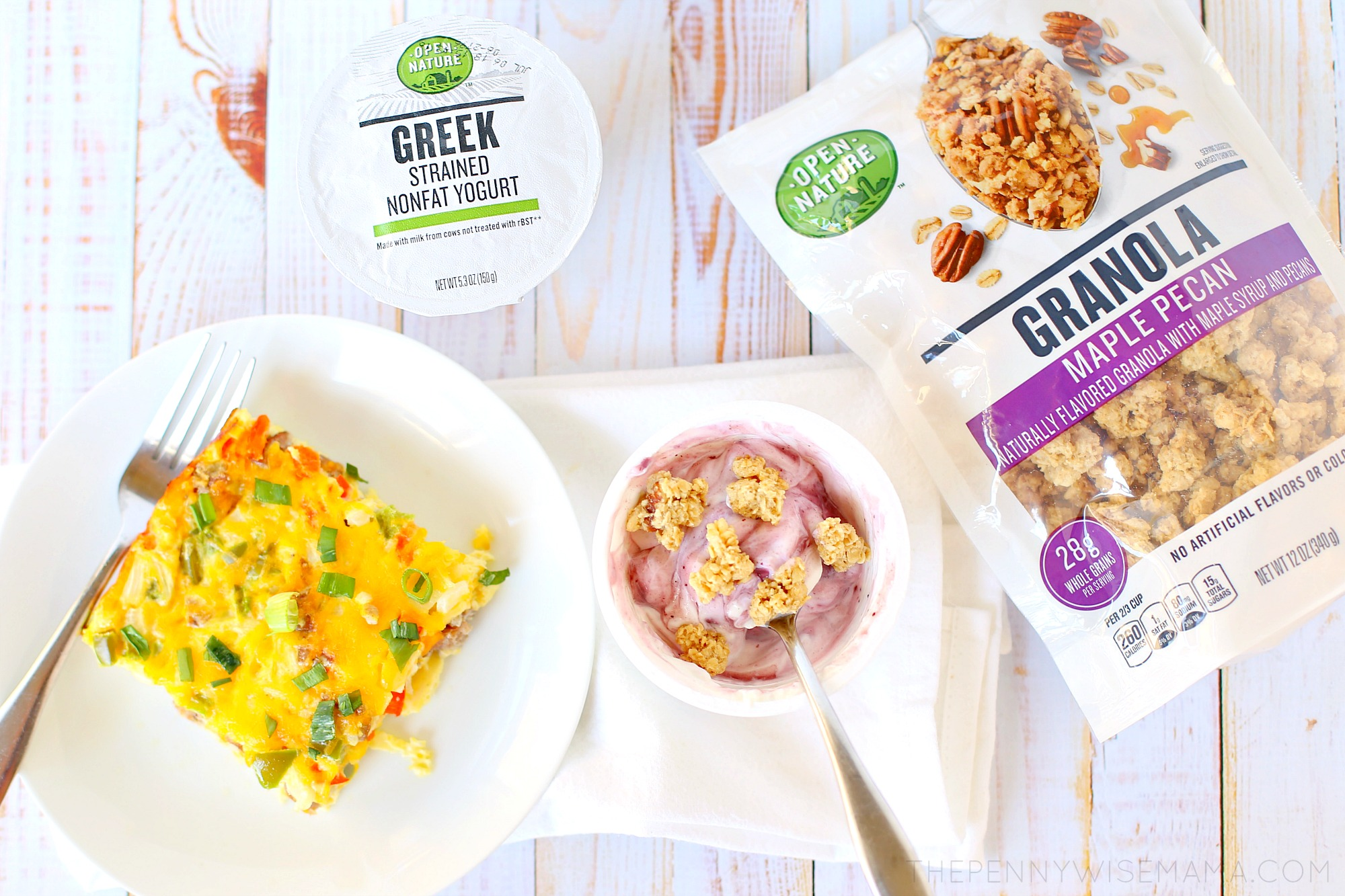 open nature breakfast options