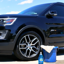 Washing Car with Dawn Dish Soap