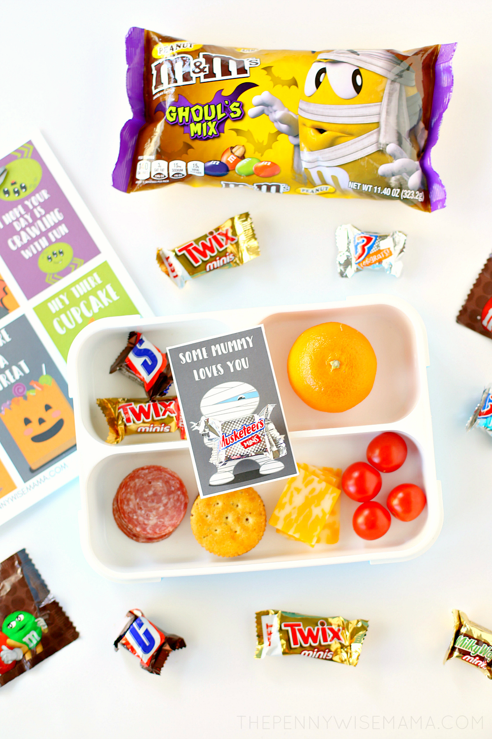 Free Printable Halloween Lunch Box Notes - Halloween Printables