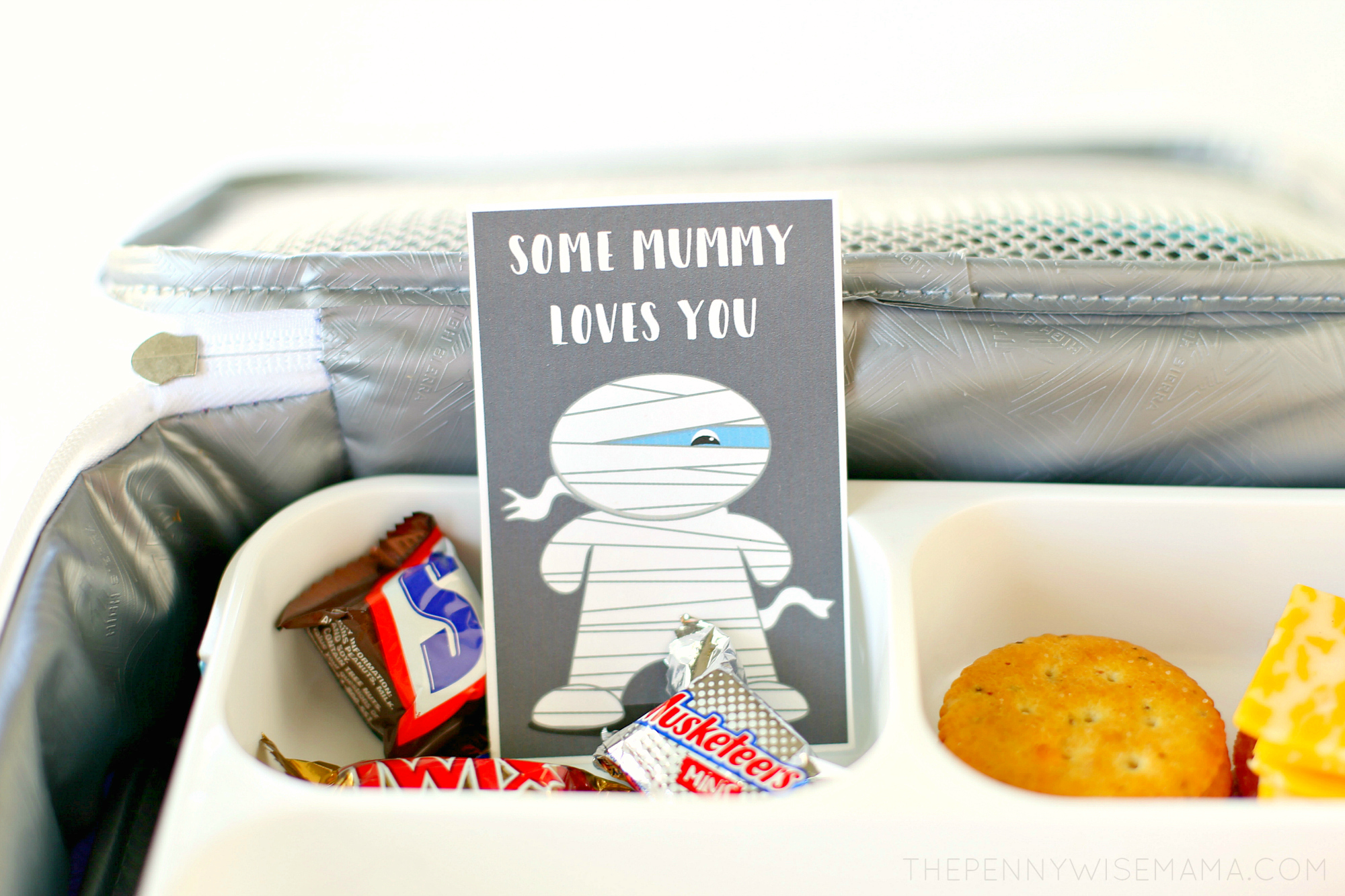 Cute Halloween Lunch Box Notes - Free Printable