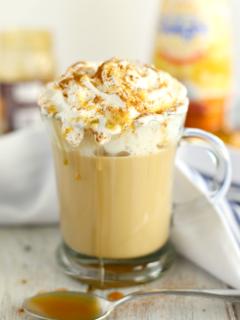 Caramel Pumpkin Spice Latte - Easy Make at Home Recipe!