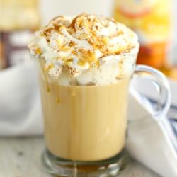 Caramel Pumpkin Spice Latte – Easy Make At Home Recipe