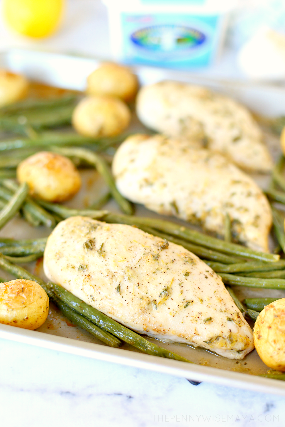 Chicken Potatoes Vegetables Sheet Pan Dinner