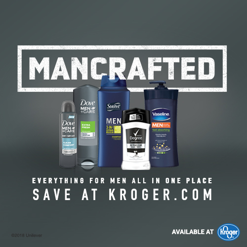 Save Big on Men's Grooming Products at Kroger Mega Event