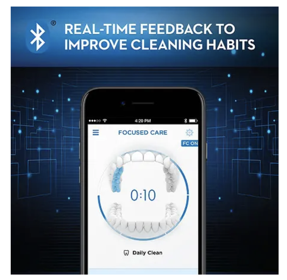 Oral-B 7000 Provides Real-Time Feedback to Improve Cleaning Habits