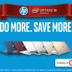 Treat Yourself to an HP Intel OptaneTM Memory Laptop