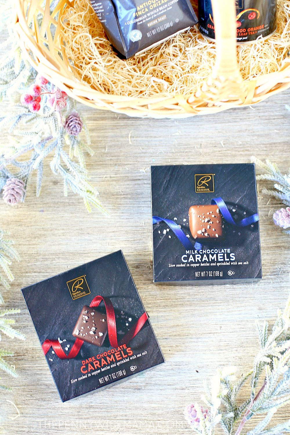 New Signature RESERVE Chocolate Covered Caramels