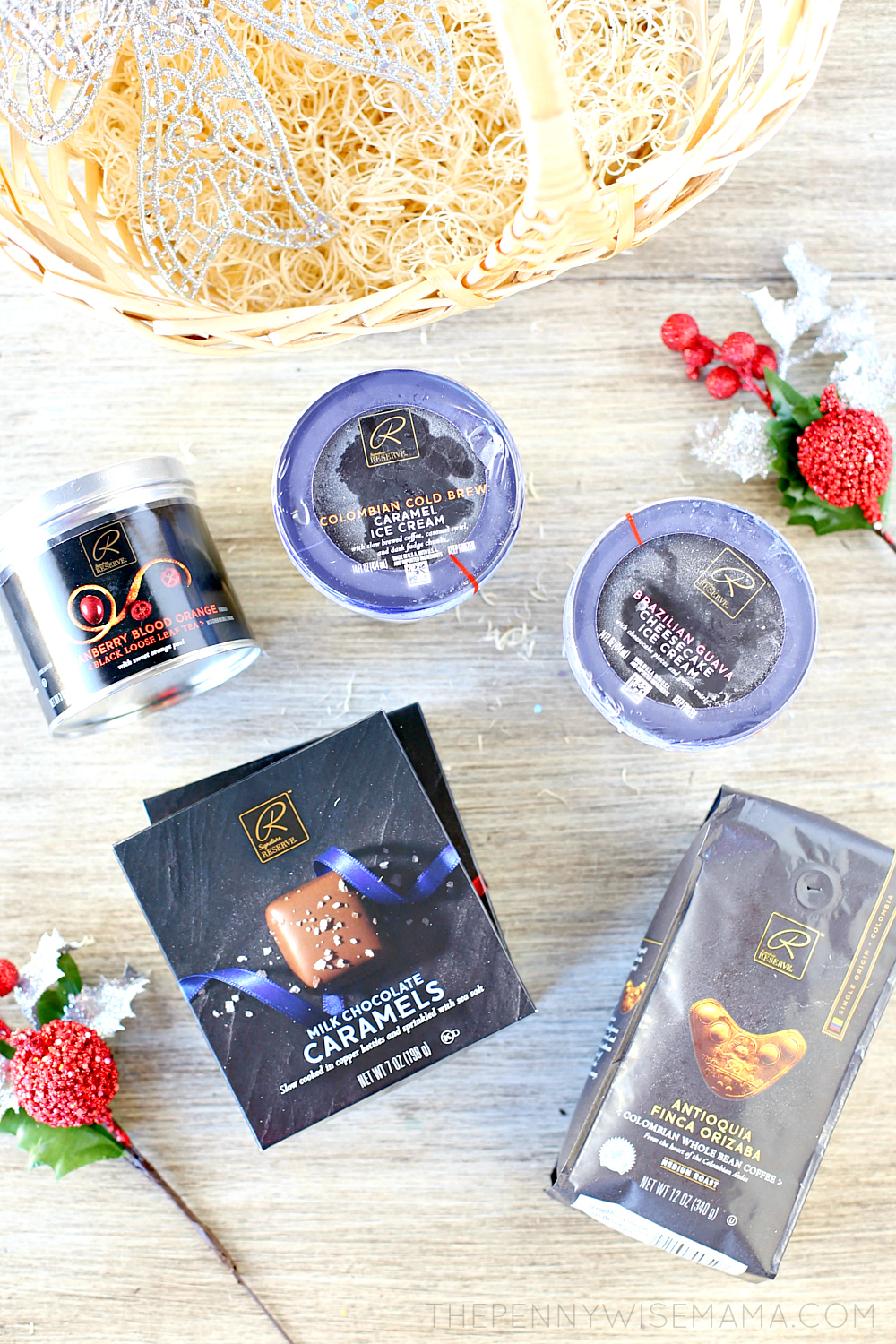 Holiday Gift Basket Featuring Signature RESERVE Products