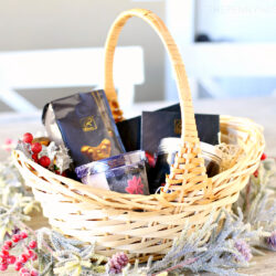DIY Decadent Dessert Holiday Gift Basket