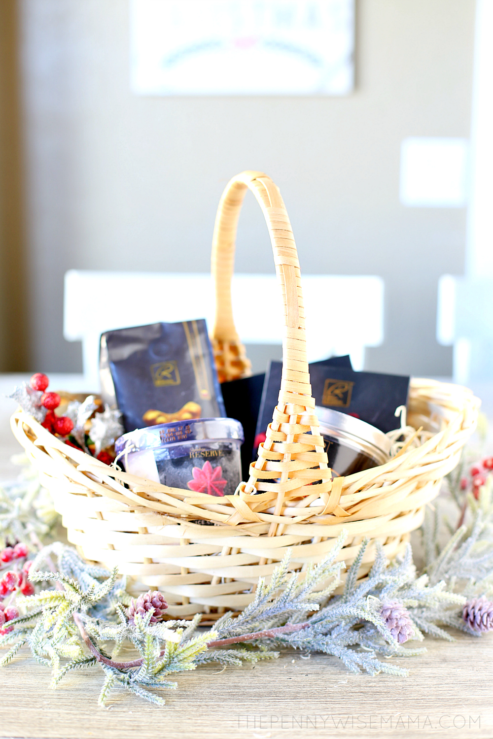 Holiday Gift Idea - DIY Dessert Gift Basket