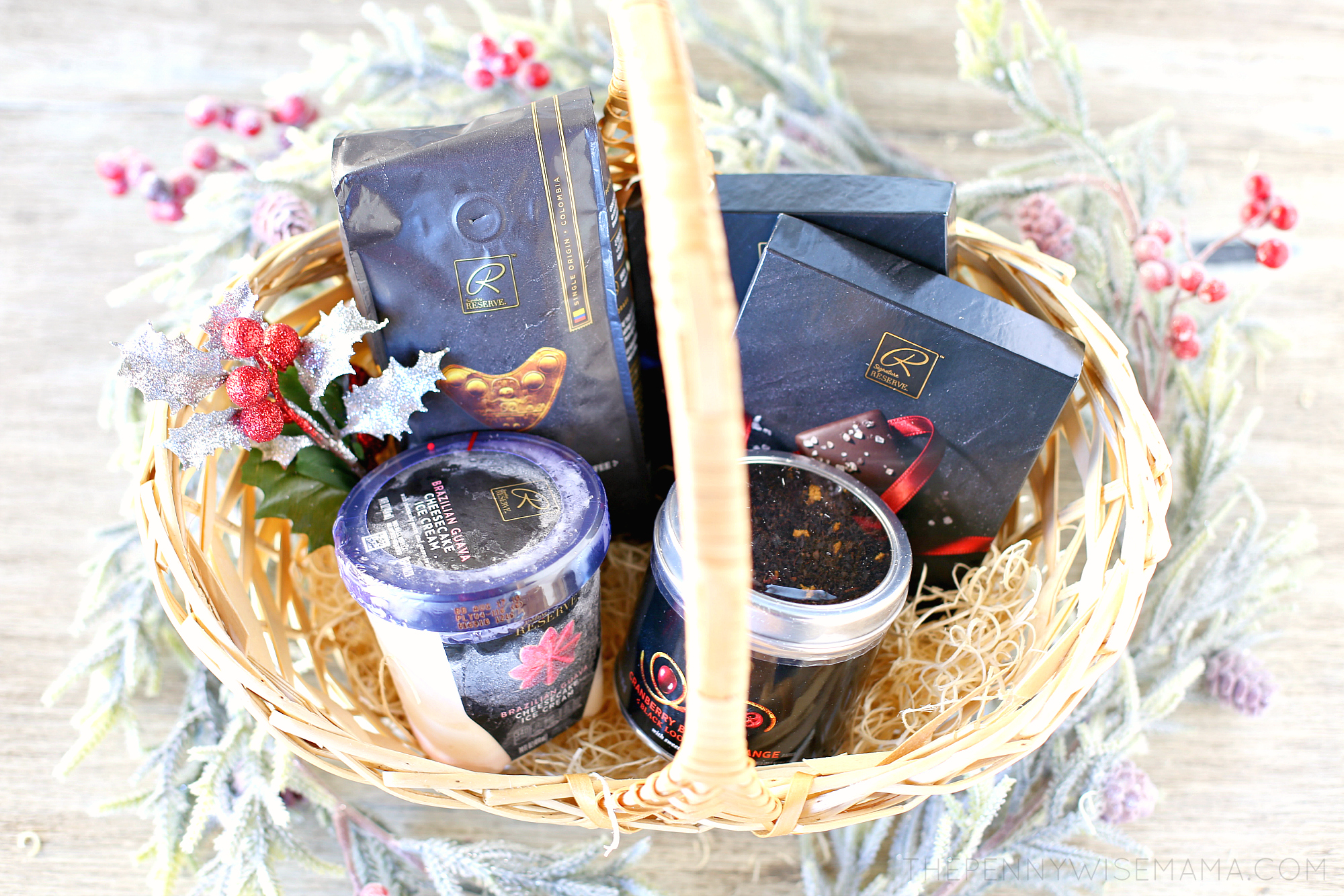 DIY Holiday Gift Basket