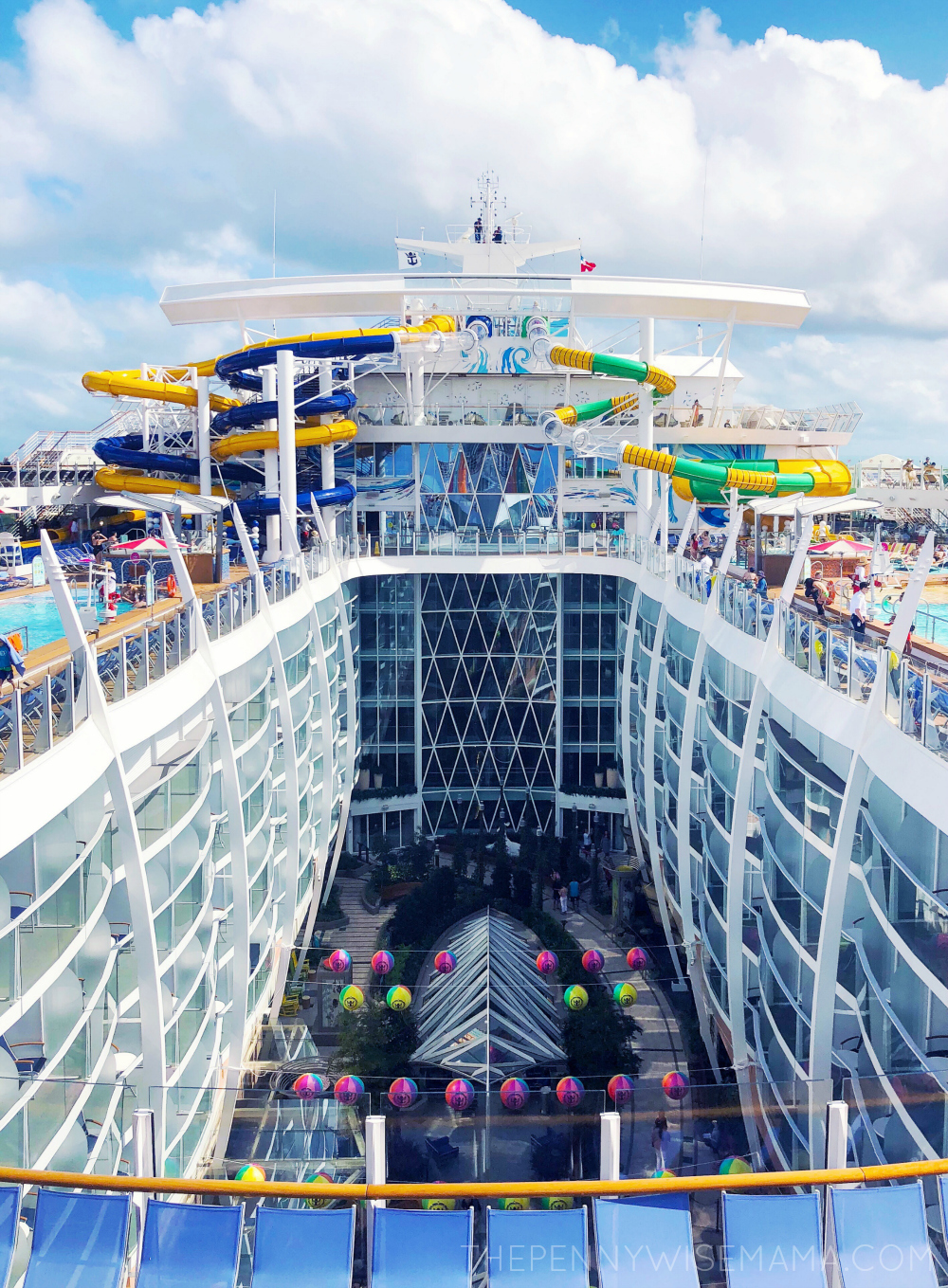 Royal Caribbean Symphony of the Seas Waterslides