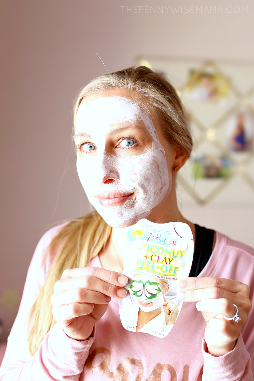 Pamper Yourself with 7th Heaven Coconut + Clay Peel-Off Mask