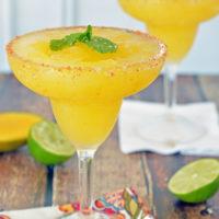 The Best Frozen Mango Margarita
