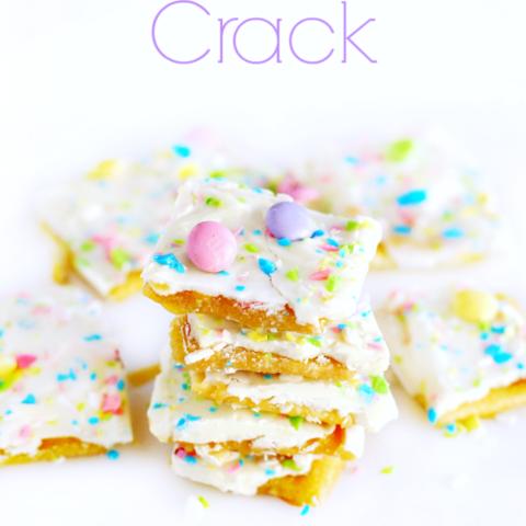 Easter Crack - Saltine Cracker Toffee Recipe