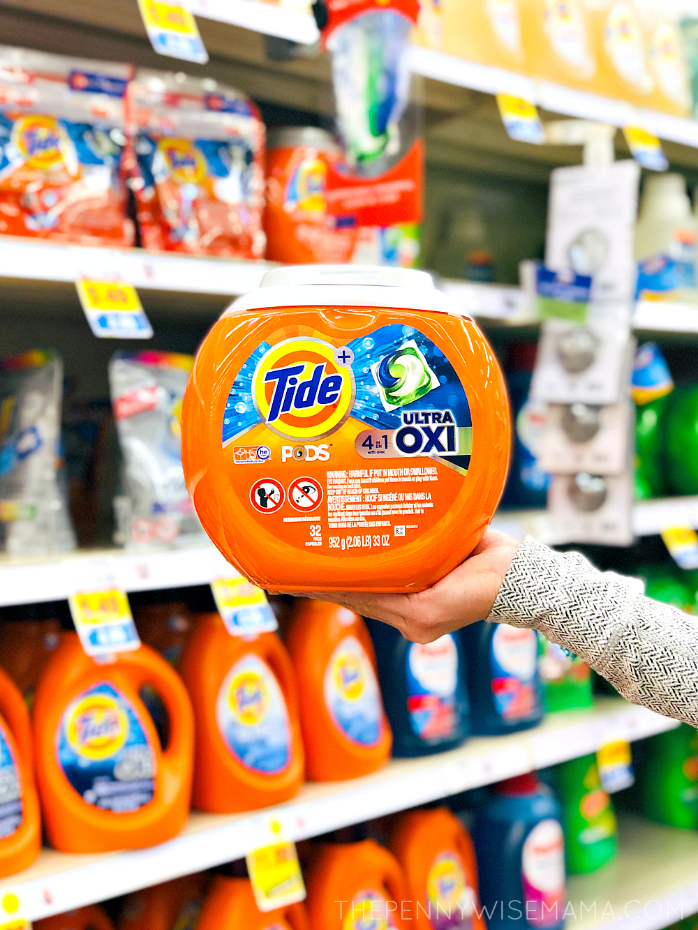 $3 off one Tide PODS Coupon