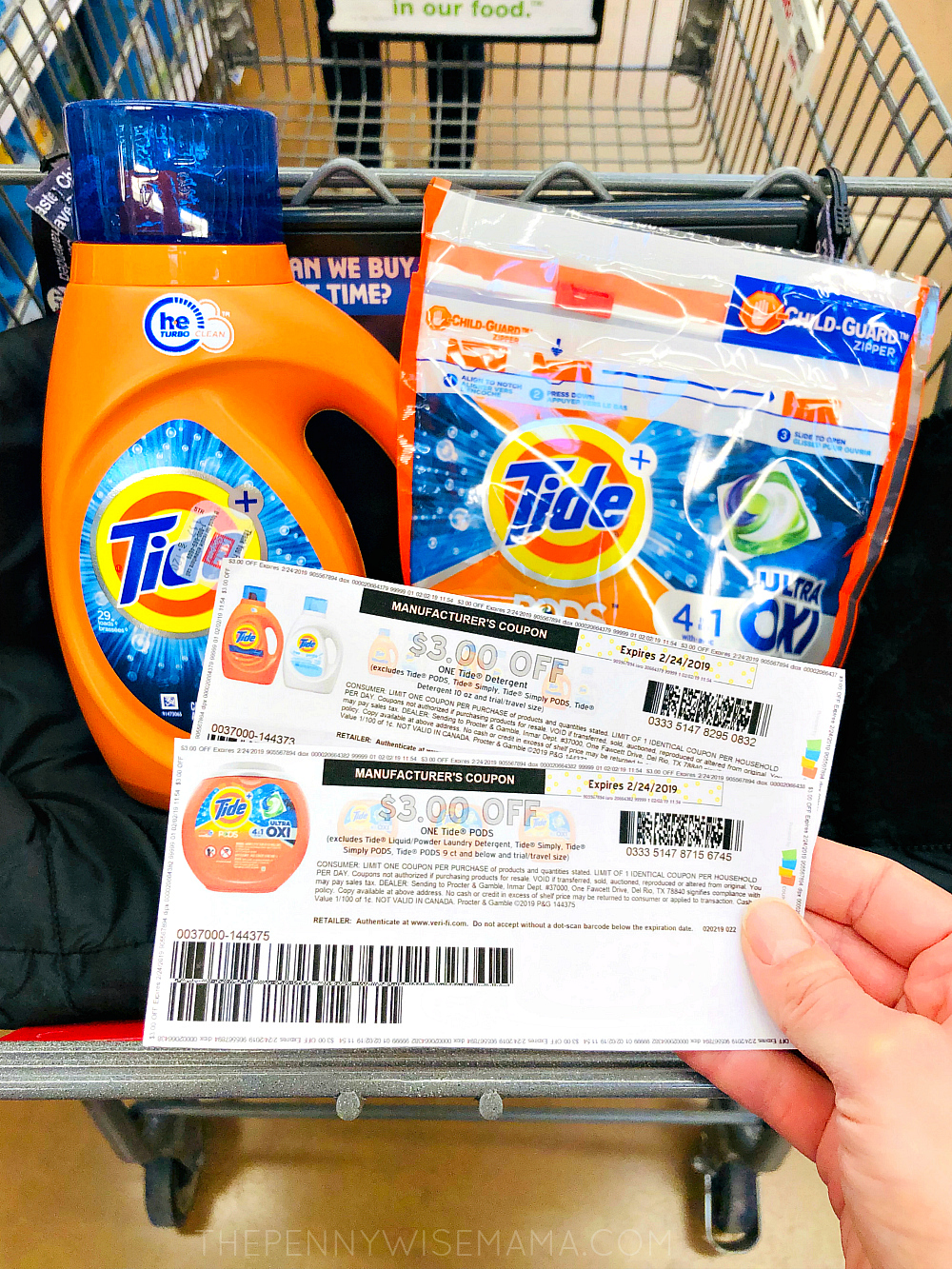 NEW $3 off Tide PODS or Tide Detergent Coupon (Feb 2019)
