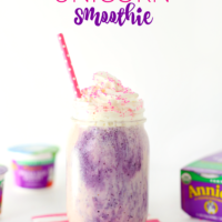 Wholesome Berry Unicorn Smoothie