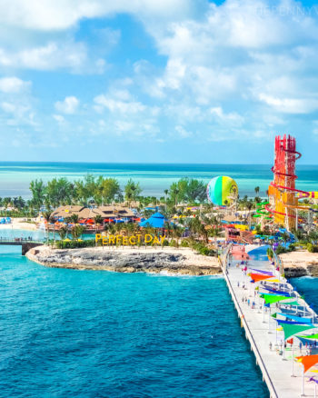 Perfect Day at CocoCay Aerial View