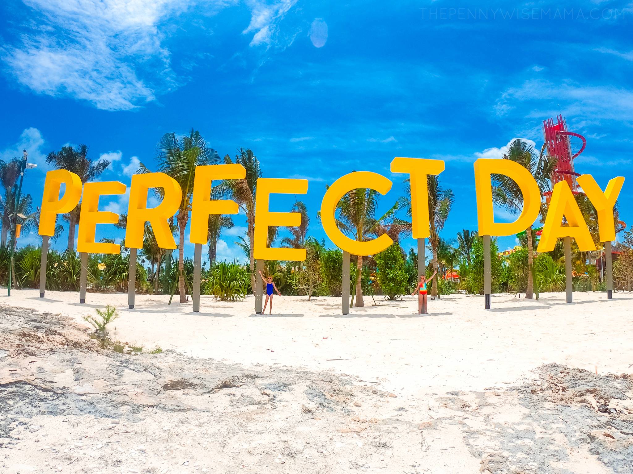 Perfect Day at CocoCay Welcome Sign
