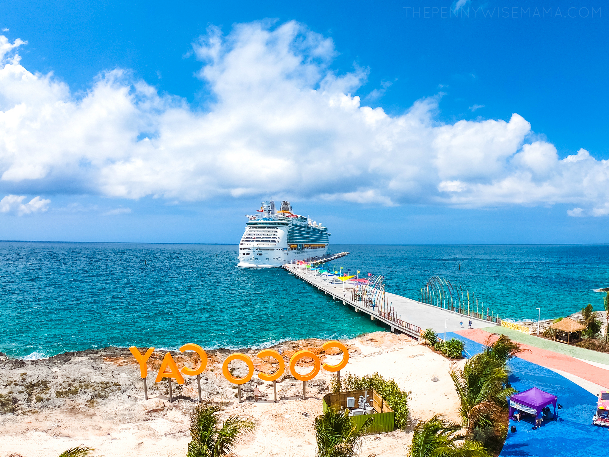 Navigator of the Seas at Perfect Day at CocoCay