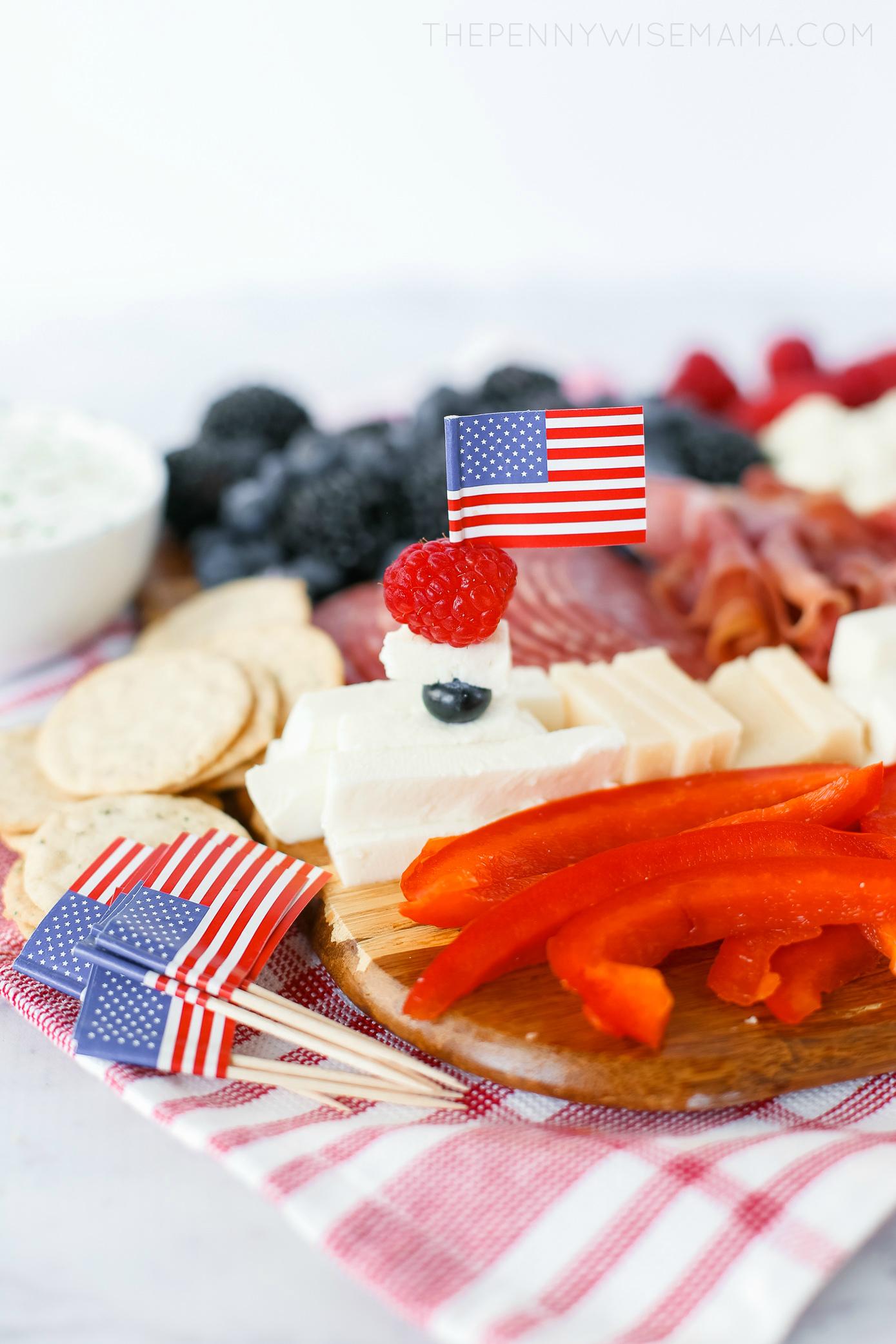 American Flag Appetizer