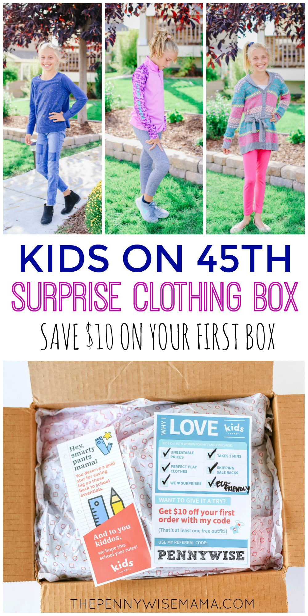 Save time AND money shopping for kids clothing with Kids on 45th. Click to learn more and to grab a promo code to save!