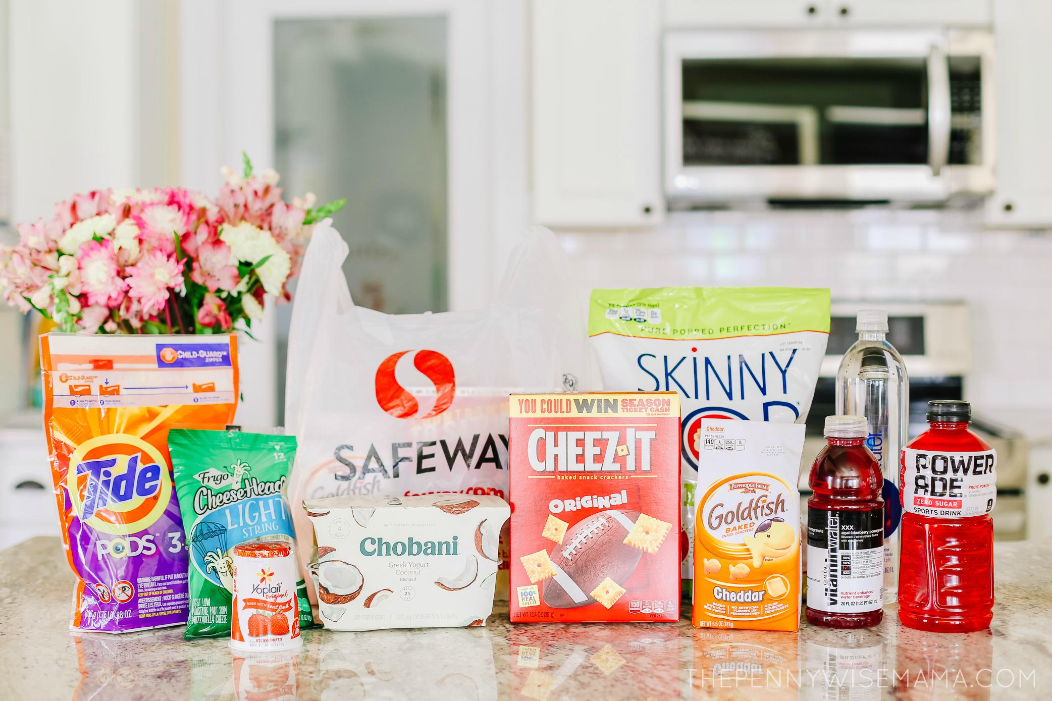 Safeway Stock Up Sale Items