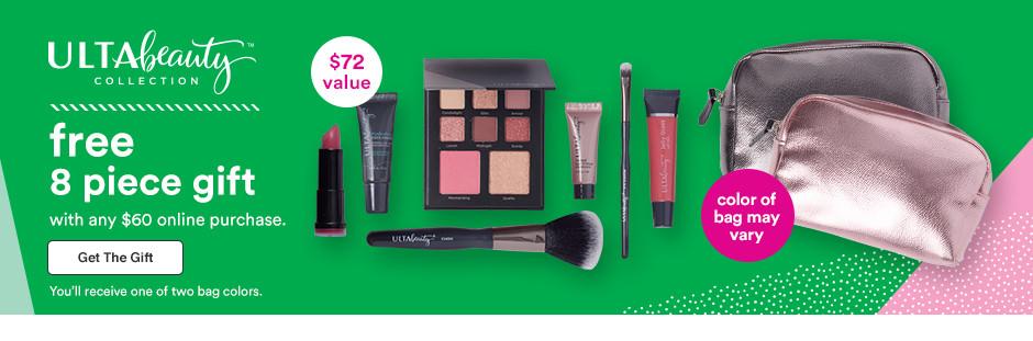 Ulta Black Friday Deal: Free 8 piece makeup bag