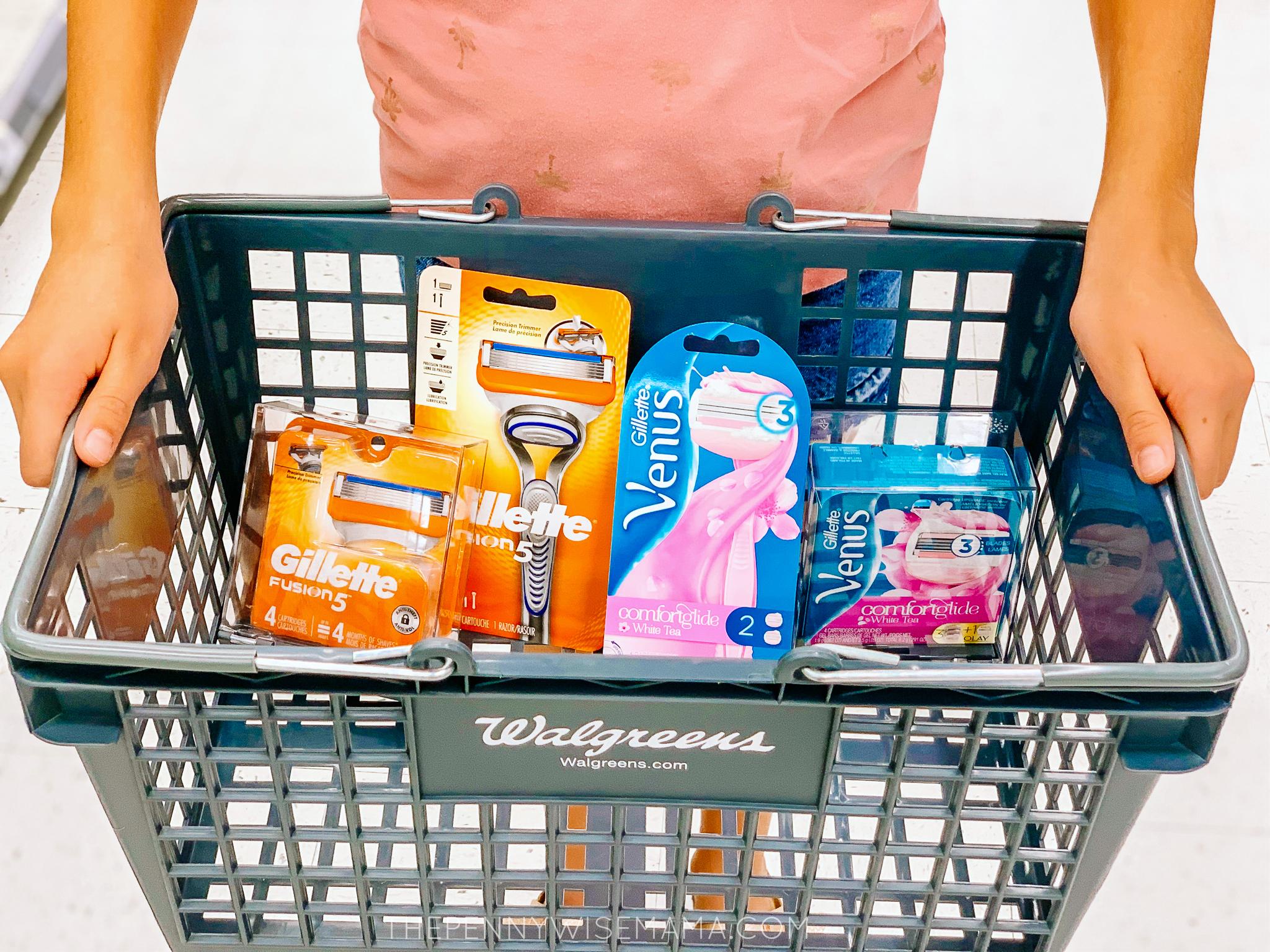 Save Big on Gillette Fusion 5 and Venus Razors at Walgreens
