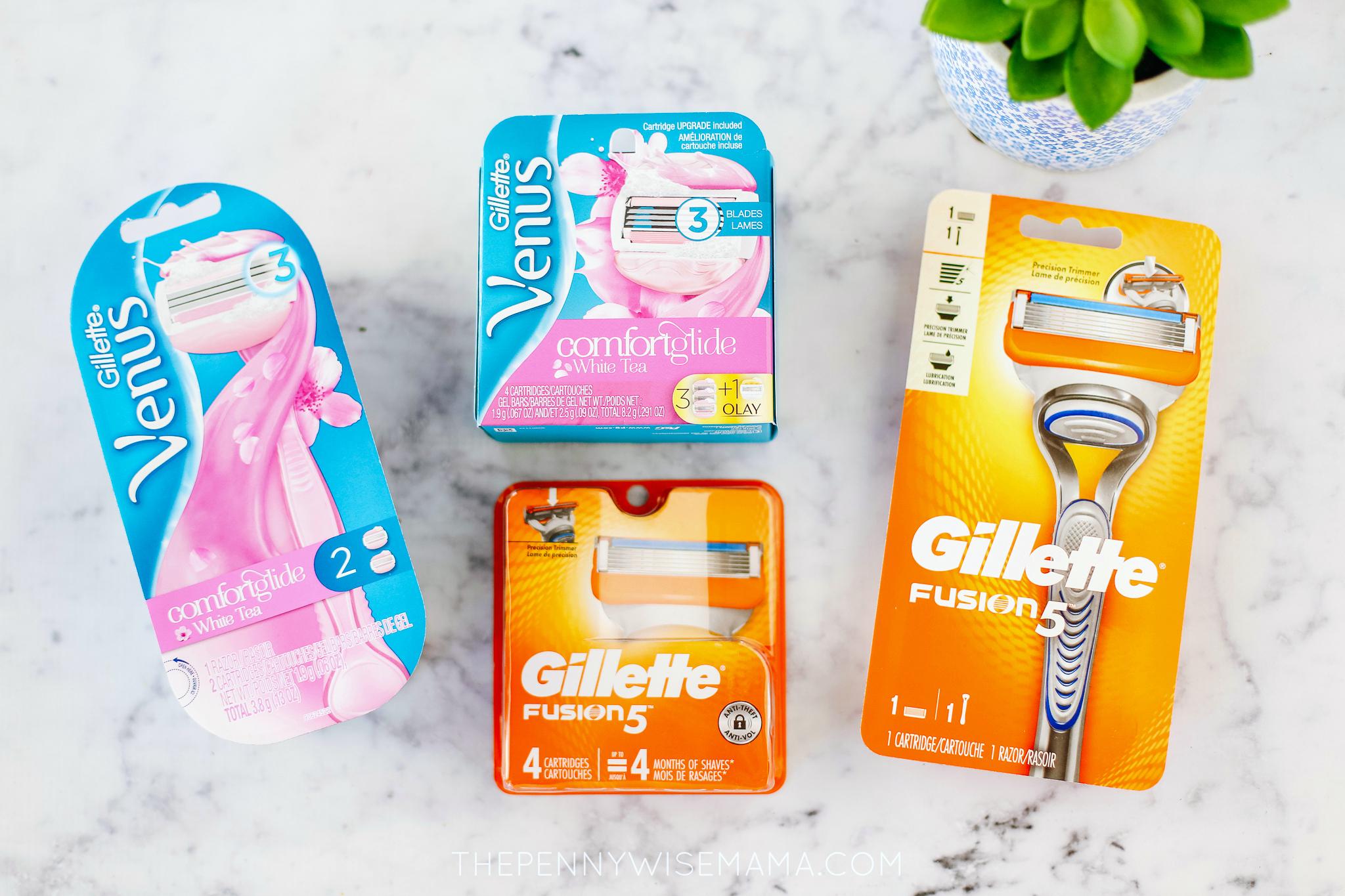 Gillette Fusion 5 and Venus Razor Coupons