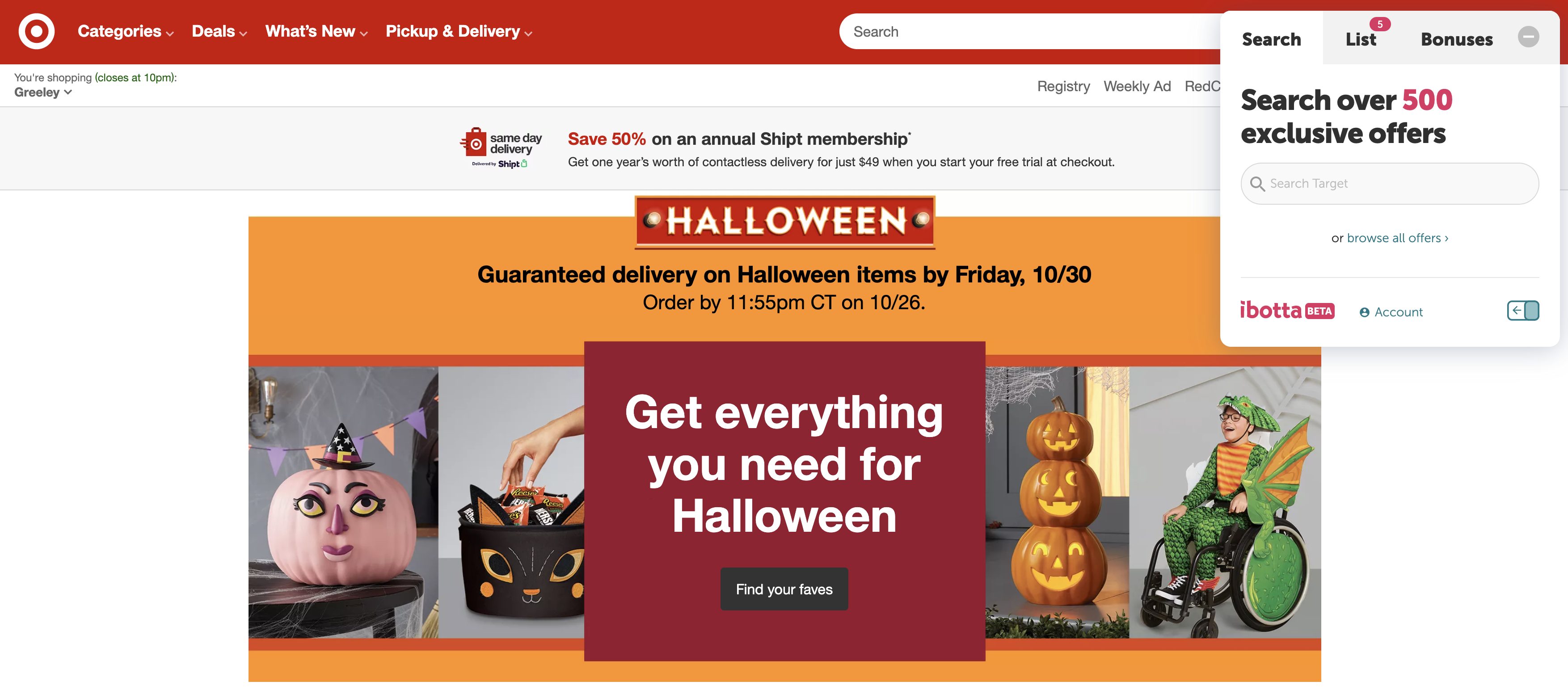 Earn Cash Back at Target with Ibotta Browser Extension