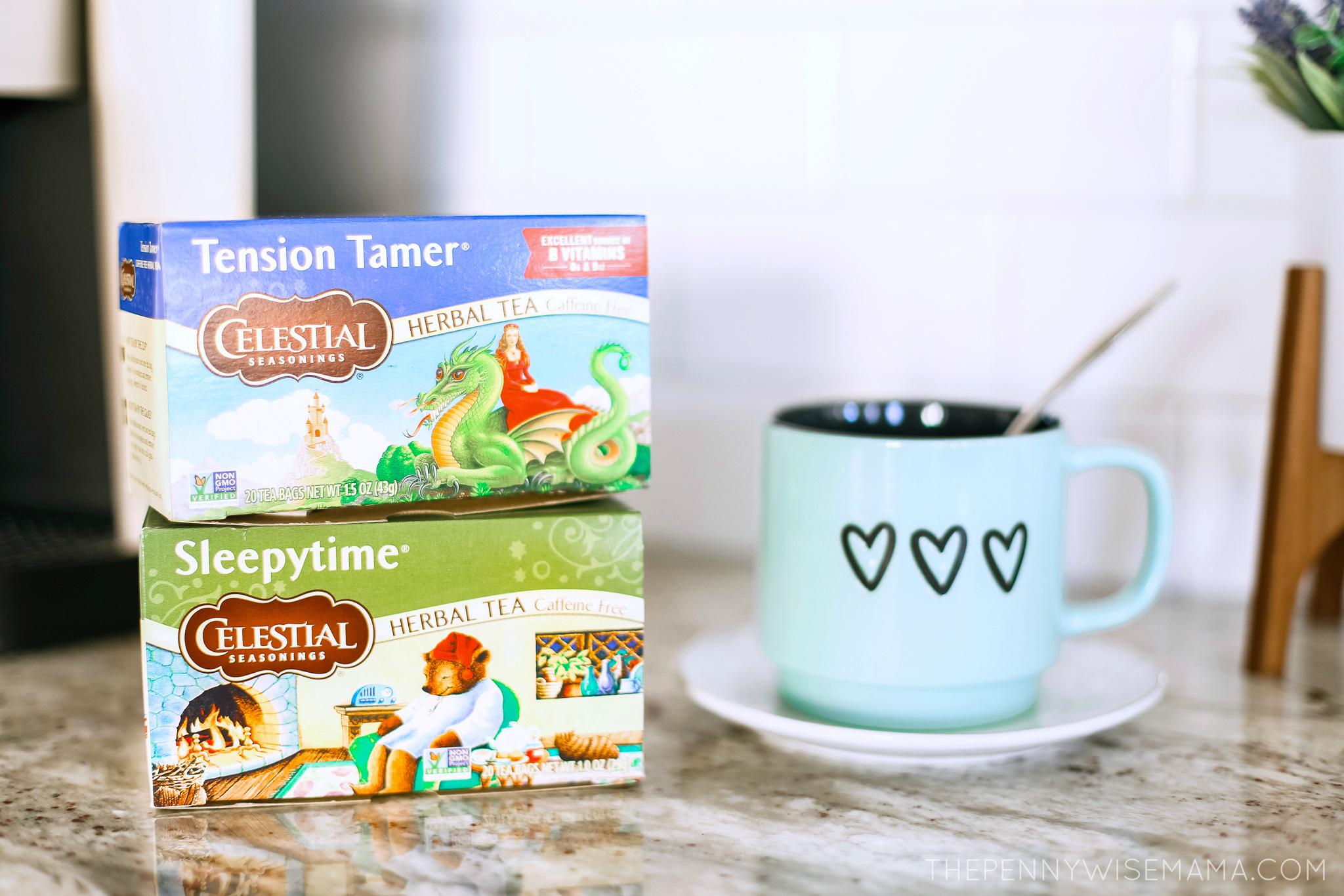 Celestia Seasonings Herbal Teas