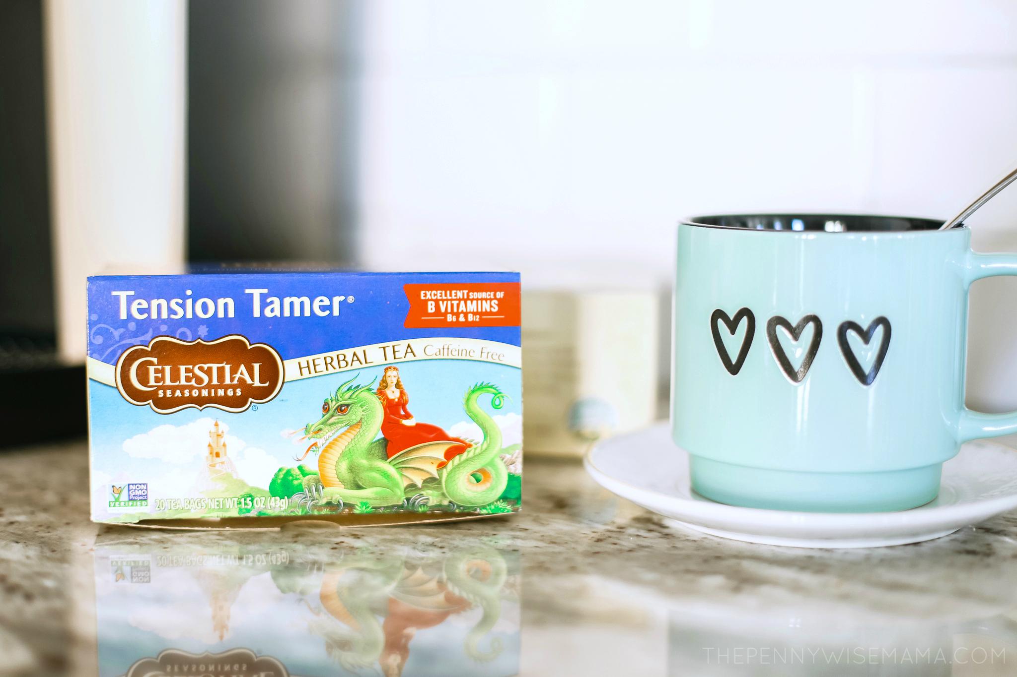 Celestial Seasonings Tension Tamer Herbal Tea