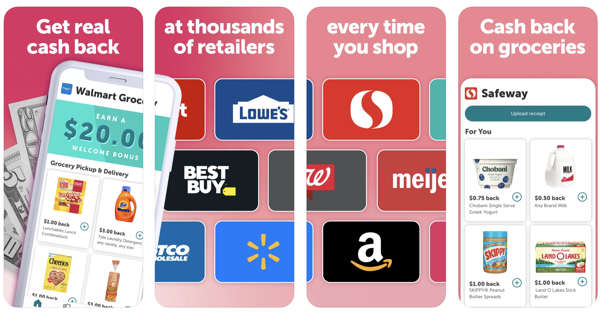 Earn cash back on your purchase with Ibotta