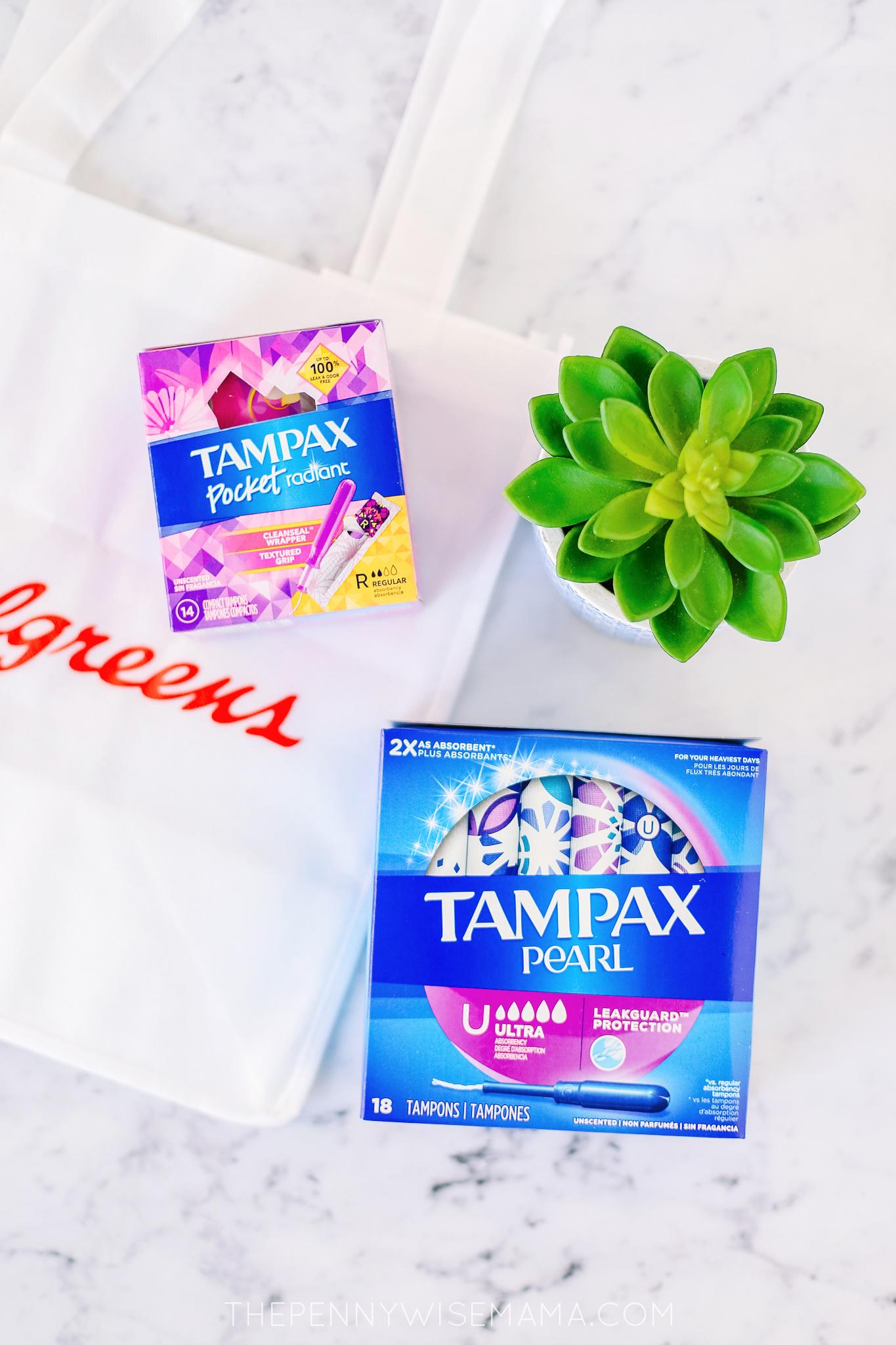2/$5 Tampax Deal at Walgreens