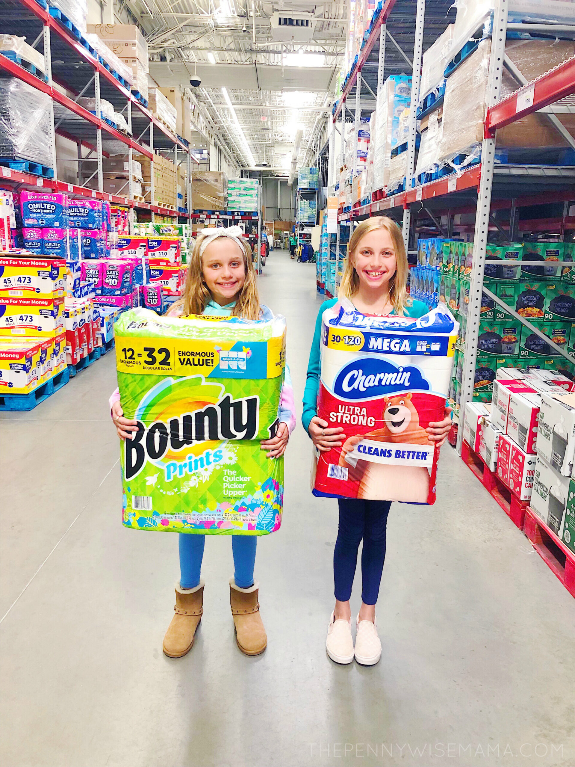 Save on Toilet Paper at Sam's Club